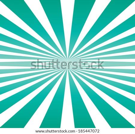 double burst of blue light