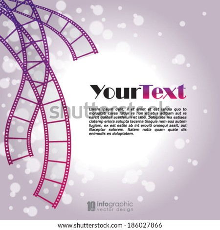 vector info graphic background