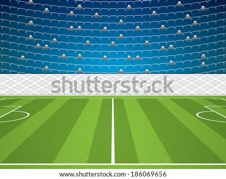 soccer stadiumvector
