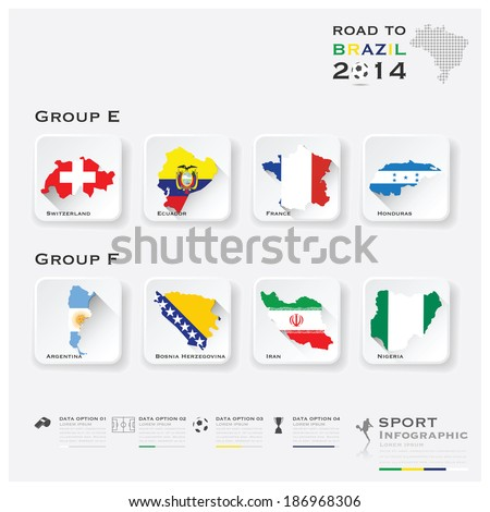 road to brazil 2014 football