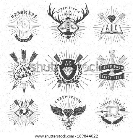 vintage hand drawn design