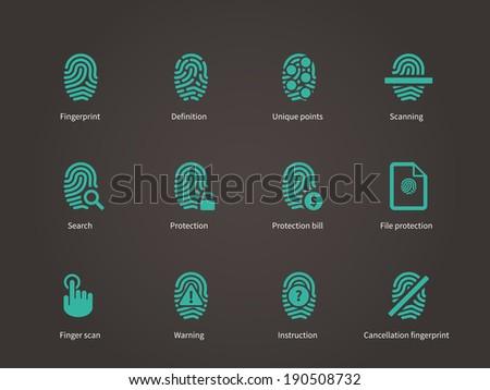 fingerprint and thumbprint