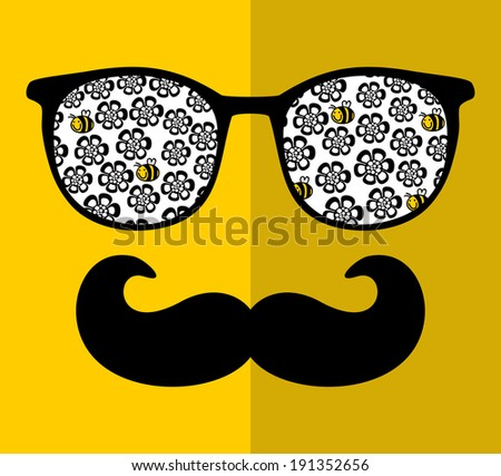 retro sunglasses with