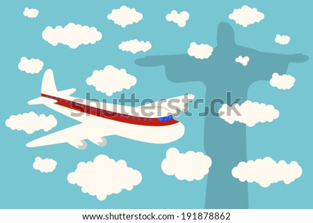 air plane arrival brazil