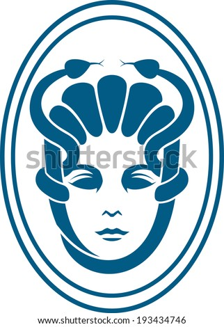 medusa icon eps 10