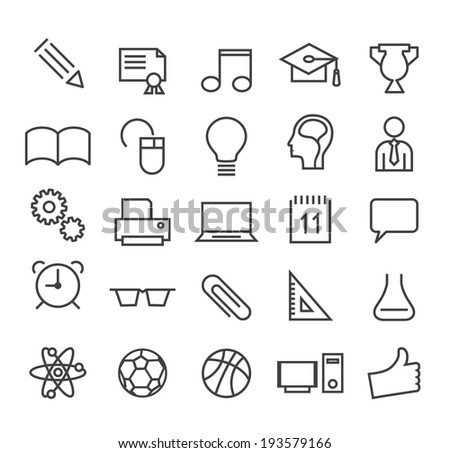 set of minimal education thin