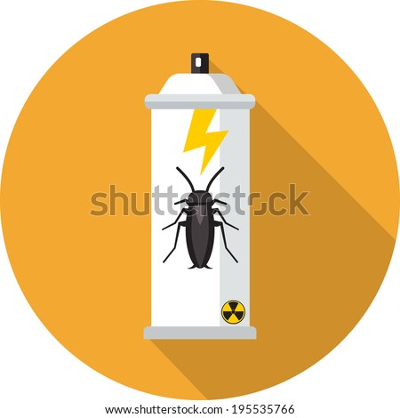 vector bug spray