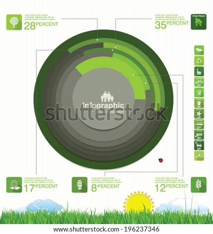 modern green ecology design