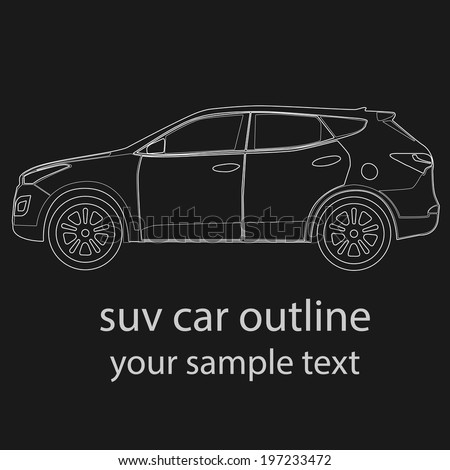 Suv Car Vector Free Vector Download Free Vector For