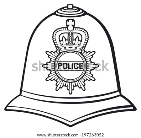 british police helmet  british