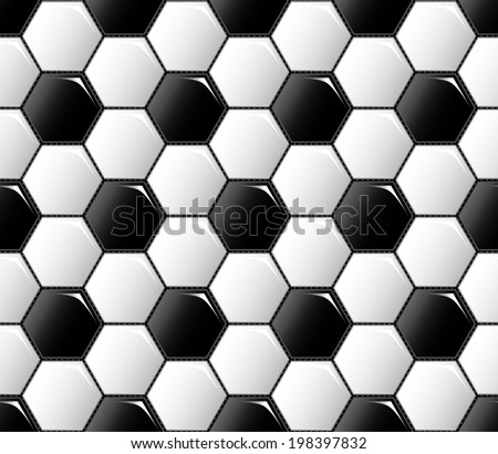 Fifa soccer ball pattern