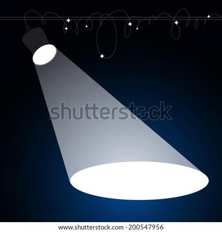 stock-vector-spotlight-vector-illustration