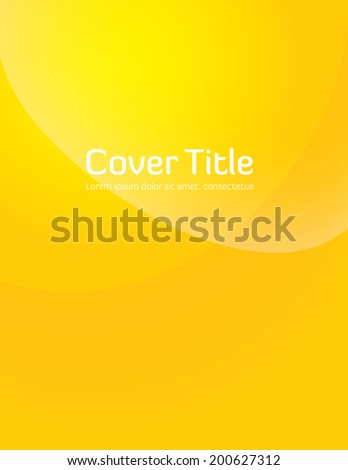 yellow gradient cover