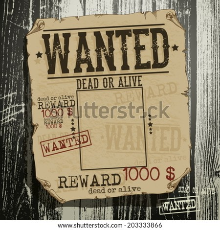 wanted advertisement