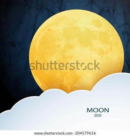 moon  clouds sweet dreams