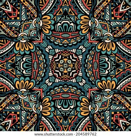 vector ethnic tribal abstract