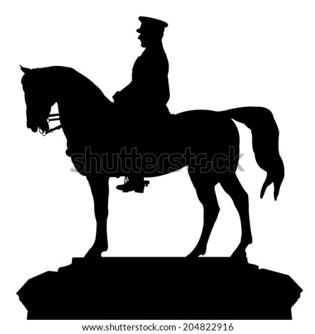 silhouette vector of the