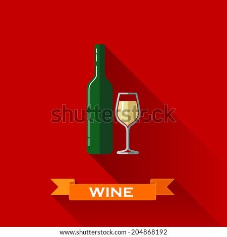 vector illustration with a