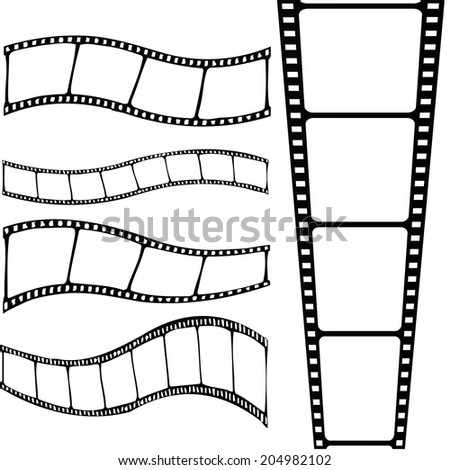 film stripe  frame template