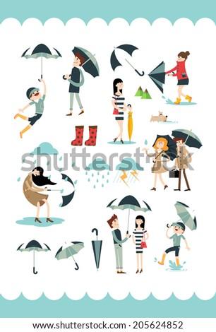 rain story b