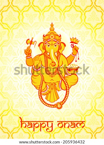 warm ganesha postcard for