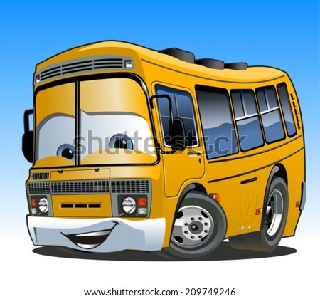 cartoon school bus available