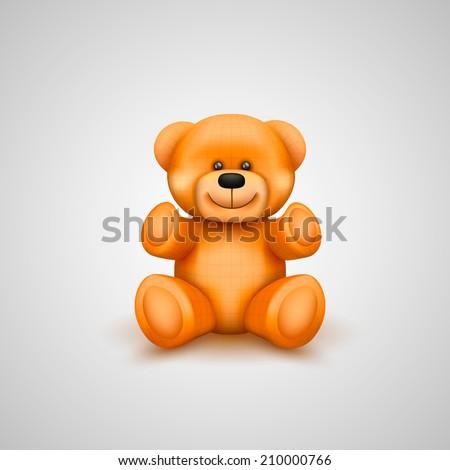 teddy bear vector illustration