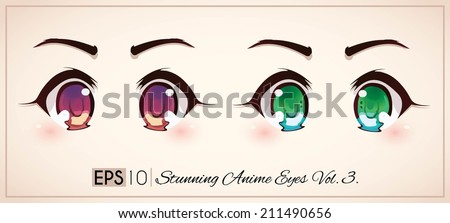 stunning anime eyes vol1