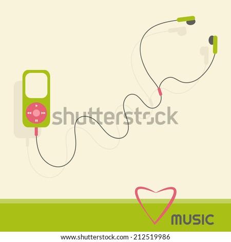 green music player