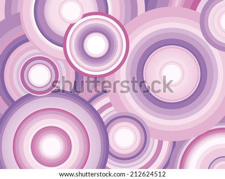abstract retro vector