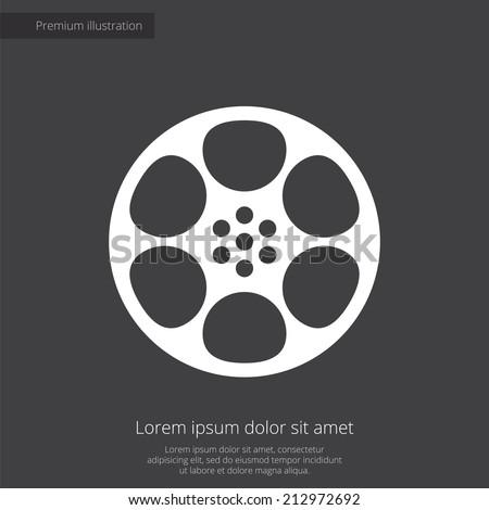 video film premium illustration