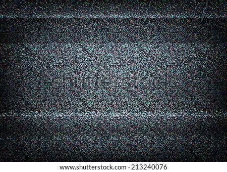 no signal tv illustration