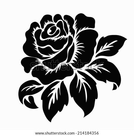Black Rose Flower Frame Free Vector Download 22161 Free Vector