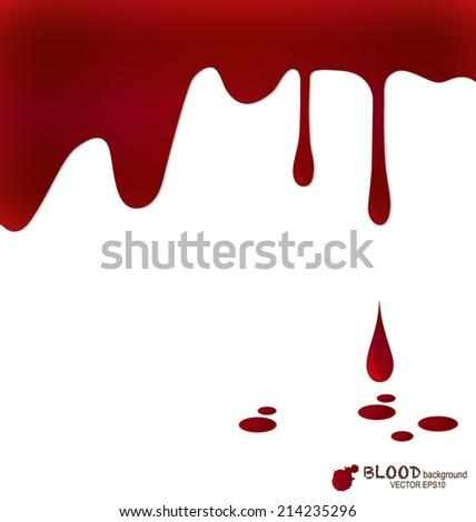 blood dripping  blood