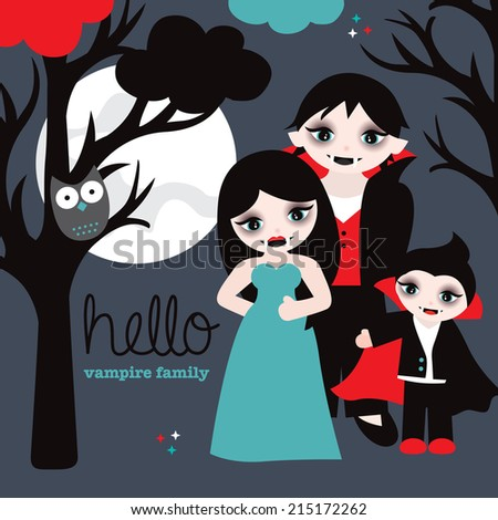 hello vampire family full moon