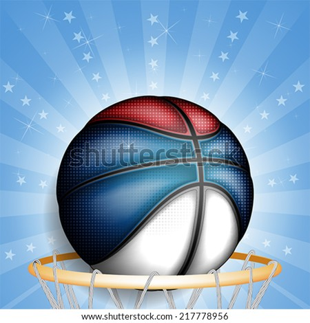 serbian basket ball  vector