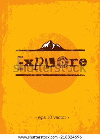 explore mountain adventure