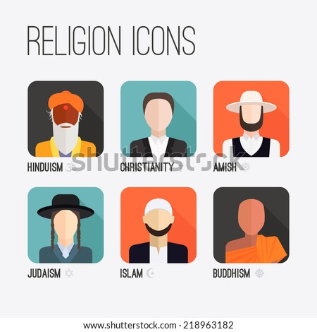 people of different religion in