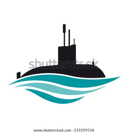 vector sign submarine