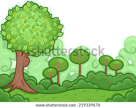 Woods free vector 4vector for Doodly free