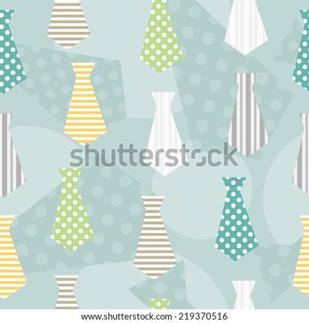 necktie seamless pattern