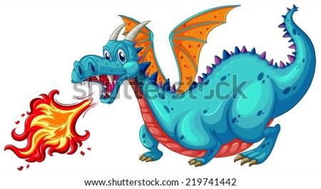 illustration of a dragon
