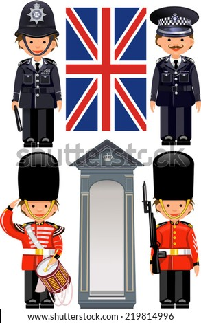 a royal guard at buckingham