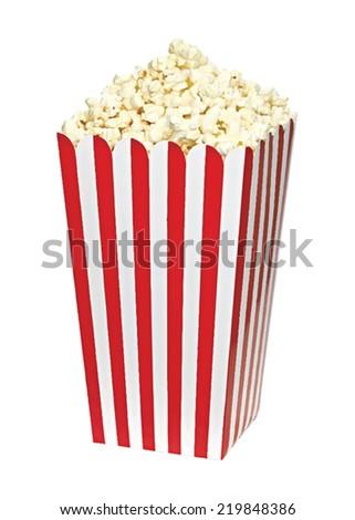 popcorn box vector illustration