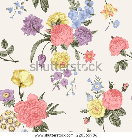 floral card bouquet of roses