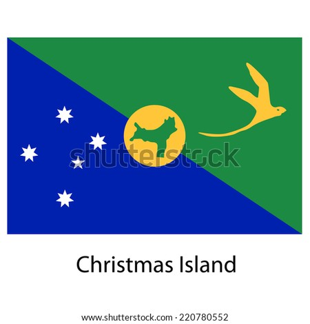 flag  of the country  christmas
