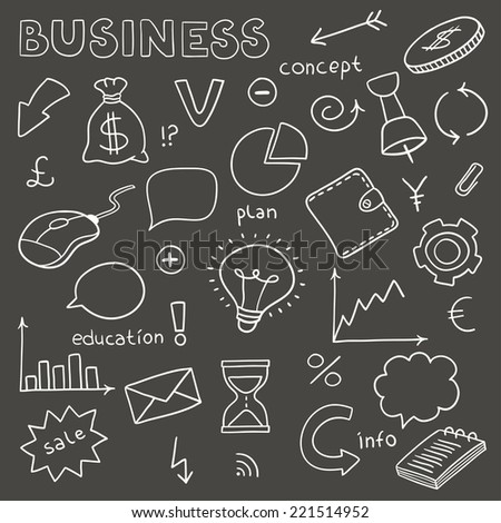 set of business elements made