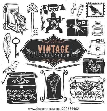 vintage retro old things