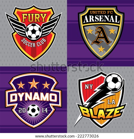 soccer club emblem patches