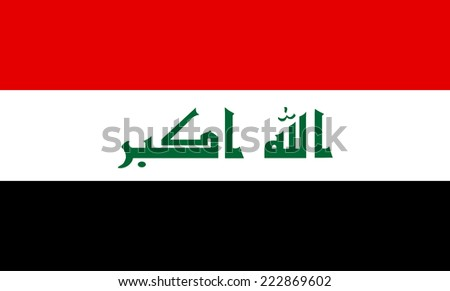 iraq vector flag